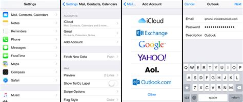 How to Add Outlook Email to iPhone (MSN, Hotmail, Live