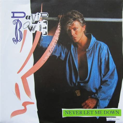 David Bowie - Never Let Me Down   Releases   Discogs