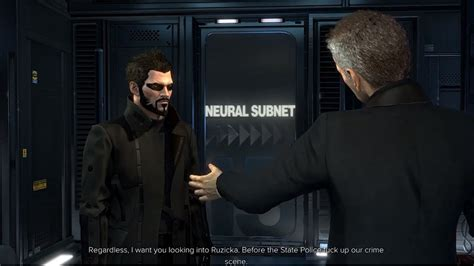 Checking Out TF29 - Deus Ex: Mankind Divided Walkthrough