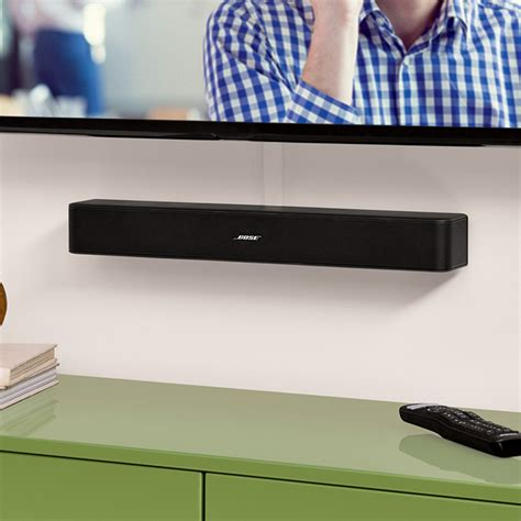 Bose Solo 5 TV Sound System with SoundXtra TV Cantilever