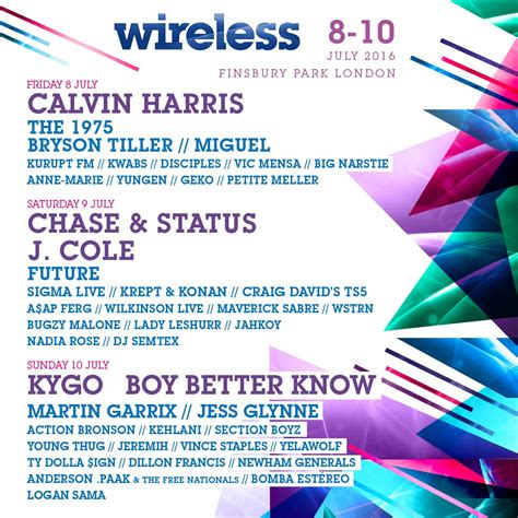 """Wireless Festival on Twitter: """"💥 Tickets on sale this"""