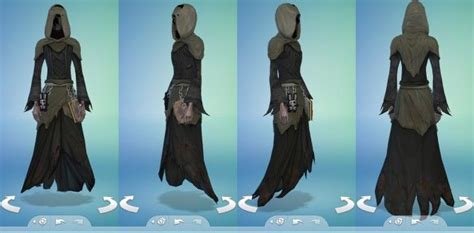 Grim Reaper Outfit by Snaitf at Mod The Sims - Sims 4