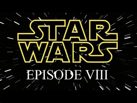 The Studio Exec STAR WARS EPISODE 8: TITLE REVEALED – The