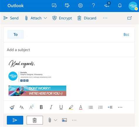 Add Outlook 365 & OWA email signature (1-min guide)