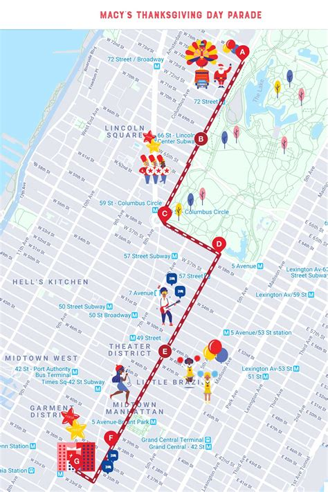 Follow THIS Route for the Macy's Thanksgiving Day Parade Route