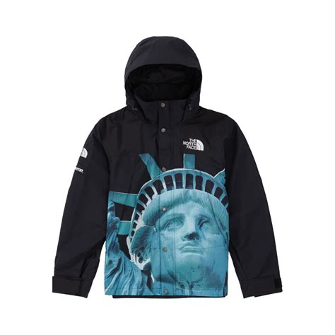 Supreme x The North Face Statue Of Liberty jacket black