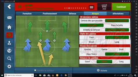 The Best Tactic en Football Manager Mobile 2018 - YouTube