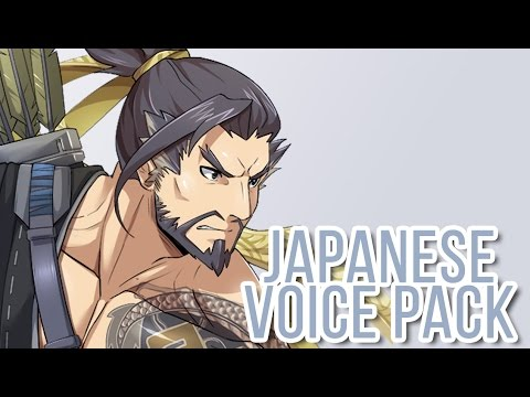 Overwatch - All Genji and Hanzo Voice Lines in Japanese
