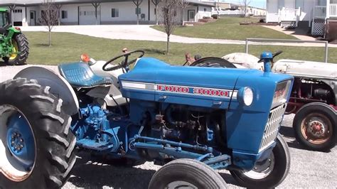 Ford 3000 Tractor For Sale by Mast Tractor - YouTube