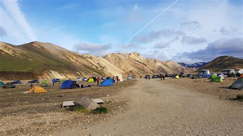 Tips for Camping and Hiking in Landmannalaugar, Iceland