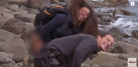 Mel B actually peed on Bear Grylls to help with his