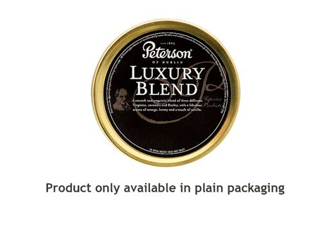 Peterson Luxury Blend Pipe Tobacco 50g   Johnny's Tobacconist