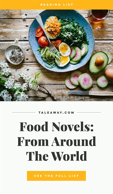 Food Novels: Books for Food Lovers from Around The World