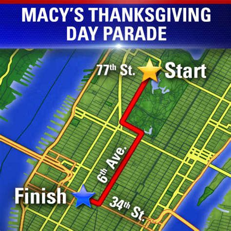 Street closures for Thanksgiving Day Parade - ABC7 New York