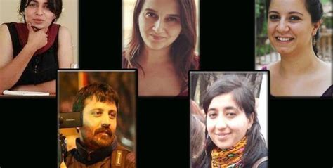 ANF   Several journalists detained in Ankara