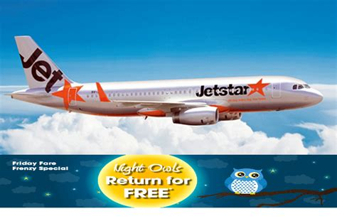 Jetstar: One-day Sale - Pay to go, Return for FREE fr S$36
