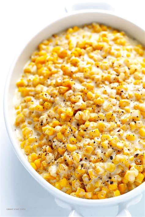 Slow Cooker Creamed Corn   Gimme Some Oven