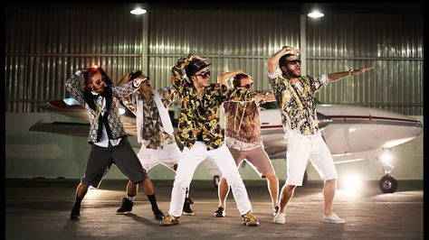 Bruno Mars Dancing With Another