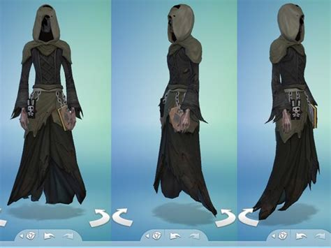 The Sims 4 ID: Grim Reaper Outfit by Snaitf | Sims, Grim