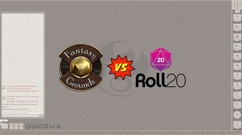 Fantasy Grounds Unity vs Roll20 - Why FGU is Better - DnD