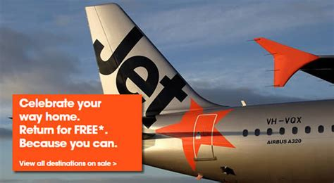 Jetstar Pay to Go, Return for FREE Promo Fares from 10