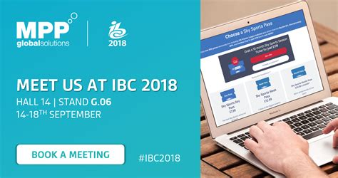 Join MPP Global at IBC 2018 in Amsterdam