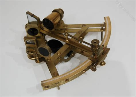 Antiques Atlas - Rare Double Framed Sextant By Bate Of London
