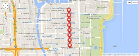 McDonald's Thanksgiving Parade 2014: Chicago Route Map