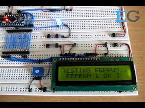 How To Test The Built-In EEPROM Of The Arduino - YouTube