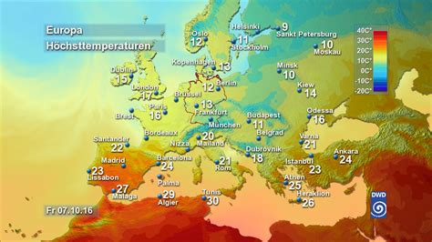 Wetter Europa 14 Tage - wetterger